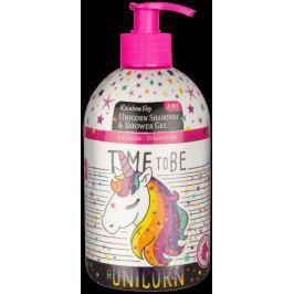 Sprchový gel + šampón Jednorožec 2v1