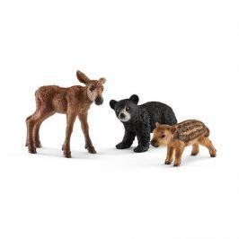 Schleich - Set mláďata lesních zvířátek