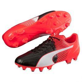 Puma Kopačky  evoSPEED 3.5 Leather FG Red, UK 10 / EUR 44,5 / US 11