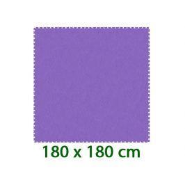MALÝ GÉNIUS Fialový pěnový koberec  - XL 9 dílů 16mm (díl 60cm)