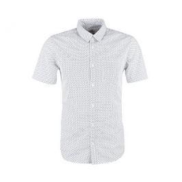 Q/S designed by Pánská košile 40.804.22.2571.01A1 White Aop, XL