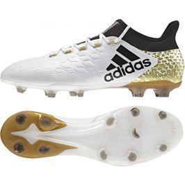 Adidas Kopačky  X 16.2 FG White/Core Black, UK 8 / US 8,5 / EUR 42 / 26,5 cm