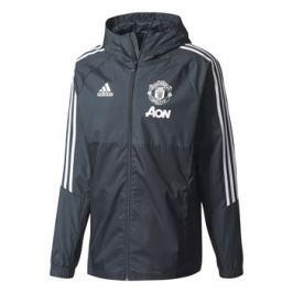 Adidas Pánská bunda  Manchester United FC šedo-černá, M