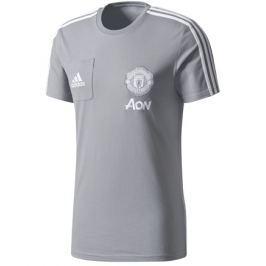Adidas Pánské tričko  Manchester United FC šedé, S