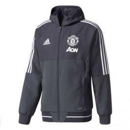 Adidas Pánská bunda  Manchester United FC šedá, M
