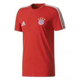 Adidas Pánské tričko  FC Bayern Mnichov červené, S
