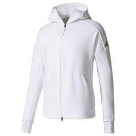 Adidas Pánská mikina   Z.N.E Hoodie White, XL