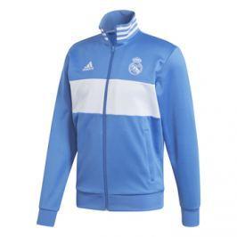 Adidas Pánská sportovní bunda  3S Real Madrid CF modrá, M