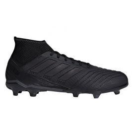 Adidas Kopačky  Predator 18.3 FG Black, UK 10 / US 10,5 / EUR 44 2/3 / 28,5 cm