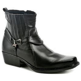 Koma 1025 černé pánské westernové boty, 40