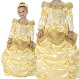 OEM Karnevalový kostým Princezna (zlatá) 92 - 104cm