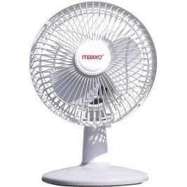 OEM Ventilátor MAXXO PP 15 - stolní, 15cm, 2 rychlosti, bílý