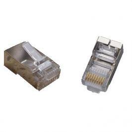 DATACOM Plug STP CAT5E 8p8c- RJ45 drát - 100-pack