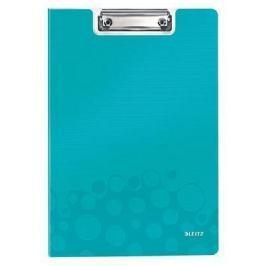 LEITZ Podložka na psaní se zakrývací deskou  WOW, Ledová modrá