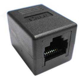 Datacom Spojka UTP CAT6  2xRJ45 (8p8c) přímá, černá