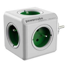 Rozbočovací zásuvka 240V, CEE7 (vidlice)-POWERCUBE, 0.1m, ORIGINAL, zelená, POWE