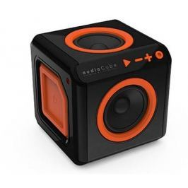 Repro přenosné PowerCube AUDIOCUBE, Black - Orange