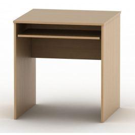 Tempo Kondela Stůl psací s výsuvem, bardolino tmavé, TEMPO AS NEW 023