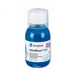 Miradent Antibakteriální ústní roztok s 0,06% chlorhexidinu Mirafluor chx, 100 ml