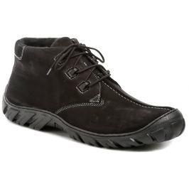 Koma 80 černé pánské nadměrné zimní boty, 46