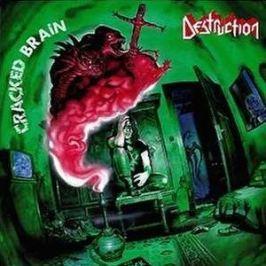 CD Destruction : Cracked Brain
