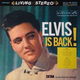 Elvis Presley : Elvis Is Back LP
