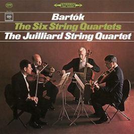 BARTOK-JULLIARD Q : SIX STRING QUARTETS LP