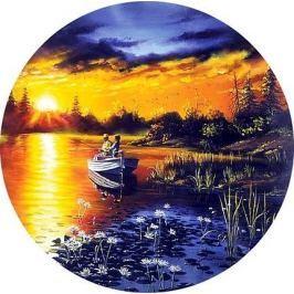 M.I.C. Kruhové (kulaté) puzzle  500 dílků - Večerní rybaření