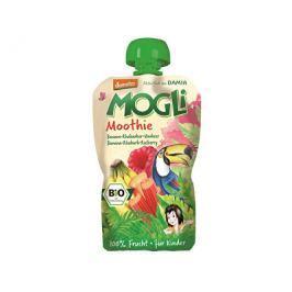 MOGLI Bio Ovocná pyré Moothie banán rebarbora malina bez cukru 100g