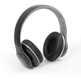 Technaxx Bluetooth uzavřená sluchátka MP3 + FM + Handsfree, černá (BT-X15)