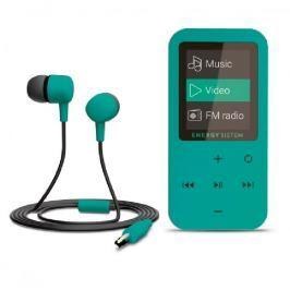 Energy sistem ENERGY MP4 Touch Mint (8GB, MicroSD, FM, sluchátka)