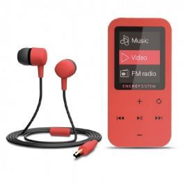 Energy sistem ENERGY MP4 Touch Coral (8GB, MicroSD, FM, sluchátka)