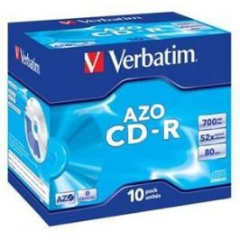 Verbatim Disk  CD-R 700MB/80min, 52x, jewel box, 10ks