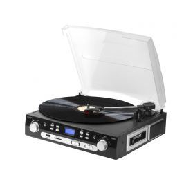TECHNOSONIC Technaxx USB gramofon/konvertor - převod gramofonových desek a audio kazet do MP