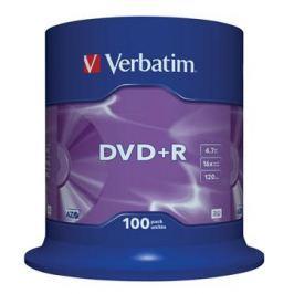 Verbatim Disk  DVD+R 4,7GB, 16x, 100-cake
