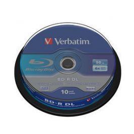 Verbatim Blu-ray BD-R DL  50GB 6x 10-cake