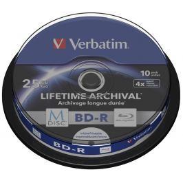 Verbatim Disk  BD-R M-Disc 25GB, 4x, printable, 10-cake