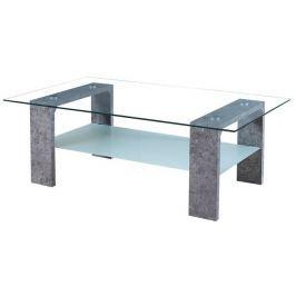 Tempo Kondela Konferenční stolek, MDF / sklo / matné sklo, beton, BELTON