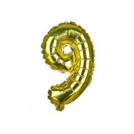 BANQUET Balónek nafukovací foliový č.9 MY PARTY, výška 30 cm