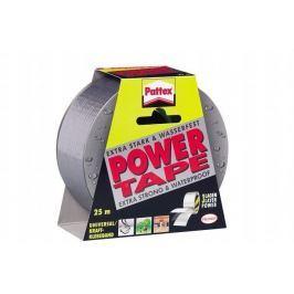 HENKEL Universální lepící páska, 50 mm x 25 m,  Pattex Power Tap, stříbrná