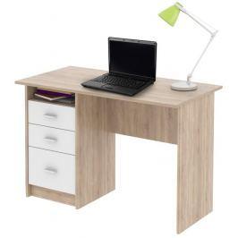 Tempo Kondela PC stůl, dub sonoma, SAMSON