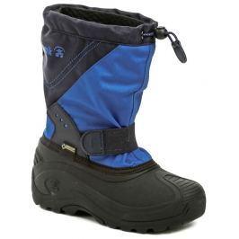 Kamik SnowtraxG Blue zimní dětské sněhule GORE-Tex, 35