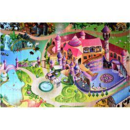 Dětský koberec Ultra Soft Zámek, 130 x 180 cm