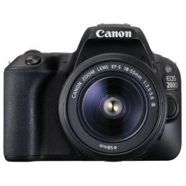 Canon EOS 200D Black + EF18-55 DC