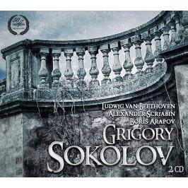 CD Beethoven / Scriabin / Arapov - Sokolov : Piano Sonatas