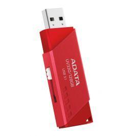ADATA Flash USB  UV330, 64 GB, USB 3.1 - červený