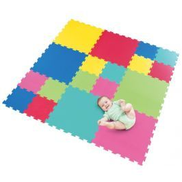 Pěnový koberec extra, 18 dílů 0+