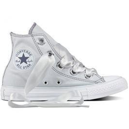Converse Dámské tenisky Chuck Taylor All Star Big Eyelets Pure Platinum/Light Carbon, 37