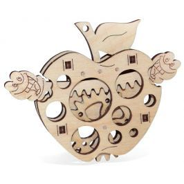 Wood Trick 3D mechanické puzzle - Jablko
