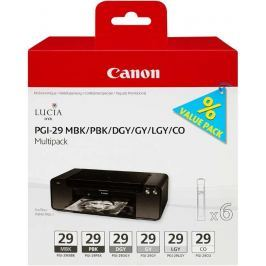 Canon PGI29 MBK/PBK/DGY/GY/LGY/CO Multi Pack